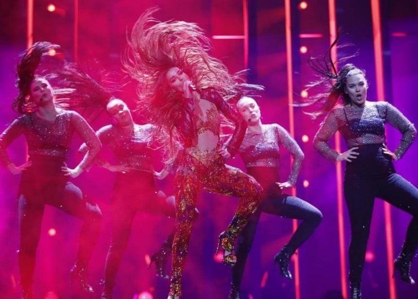 Η πρώτη πρόβα της Ελένης Φουρέιρα στη σκηνή της Eurovision 2018