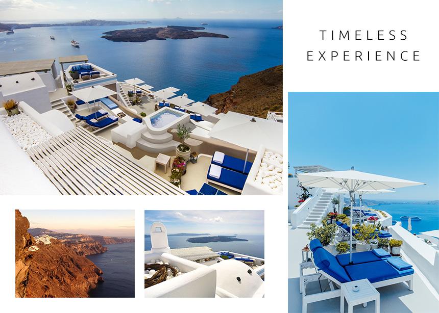 Iconic Santorini: Πολυτέλεια, υψηλών προδιαγραφών ανέσεις και θέα που κόβει την ανάσα!