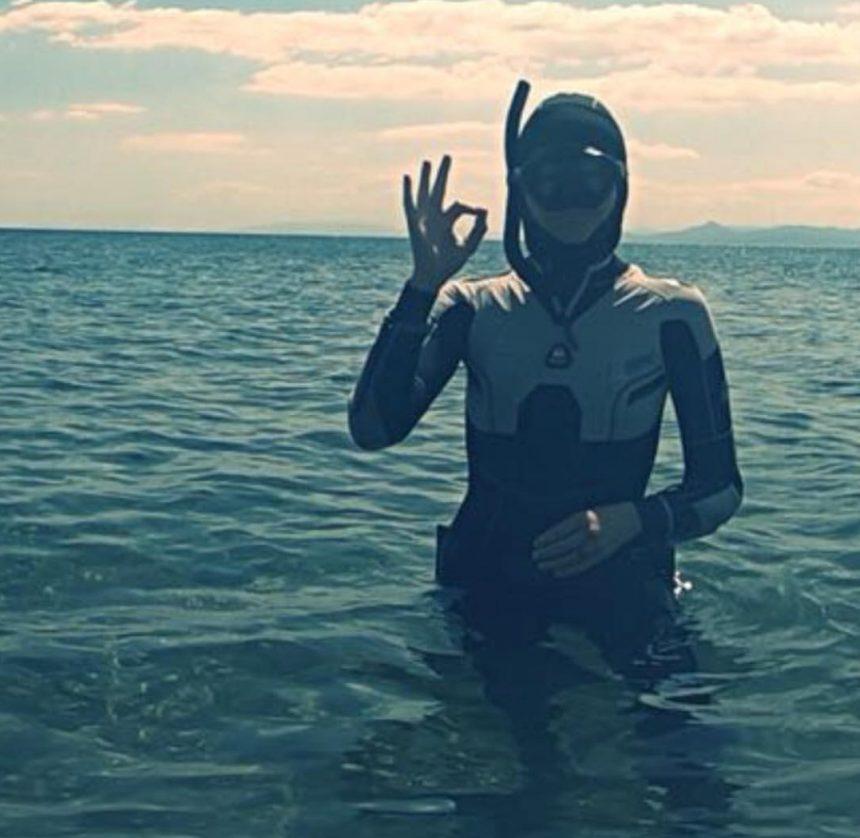 Τζένη Μπαλατσινού: Έκανε κατάδυση στο βυθό και μαγεύτηκε! Φωτογραφίες | tlife.gr