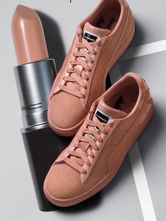 Τα Puma βγάζουν sneakers με έμπνευση από τις θρυλικές αποχρώσεις κραγιόν MAC! | tlife.gr