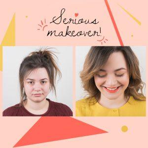 Make over: το μακιγιάζ αυτής της μεταμόρφωσης θα θέλεις αν το αντιγράψεις!