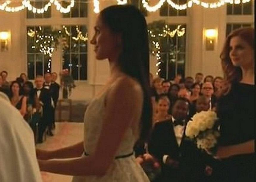 Η Meghan Markle ντυμένη νύφη! [pics]   tlife.gr