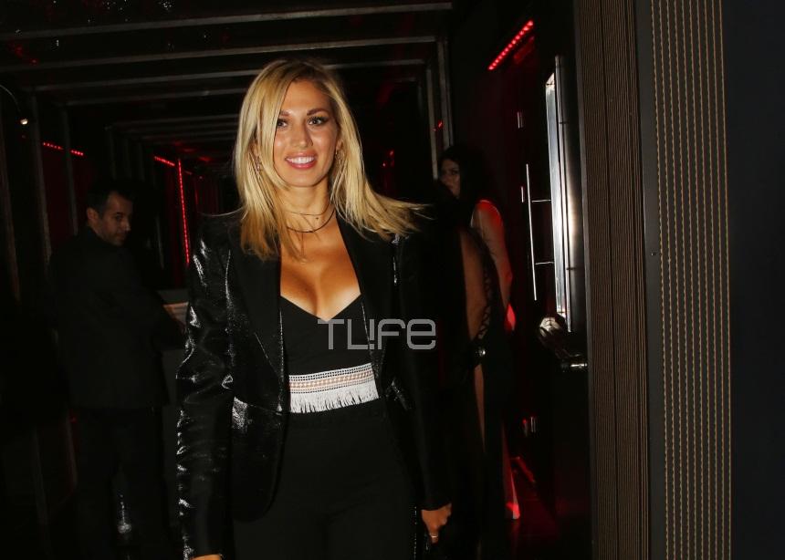 Κωνσταντίνα Σπυροπούλου: Διασκεδάζει μέχρι το πρωί μετά την επιστροφή της από το Survivor! [pics]
