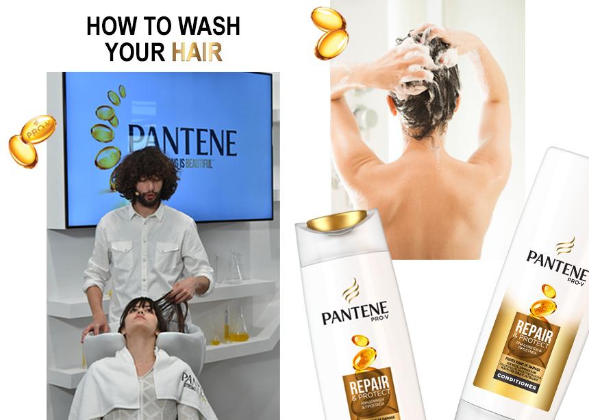 Είσαι σίγουρη πως λούζεσαι σωστά; Tips που δεν γνώριζες από τον hair stylist του Pantene! | tlife.gr