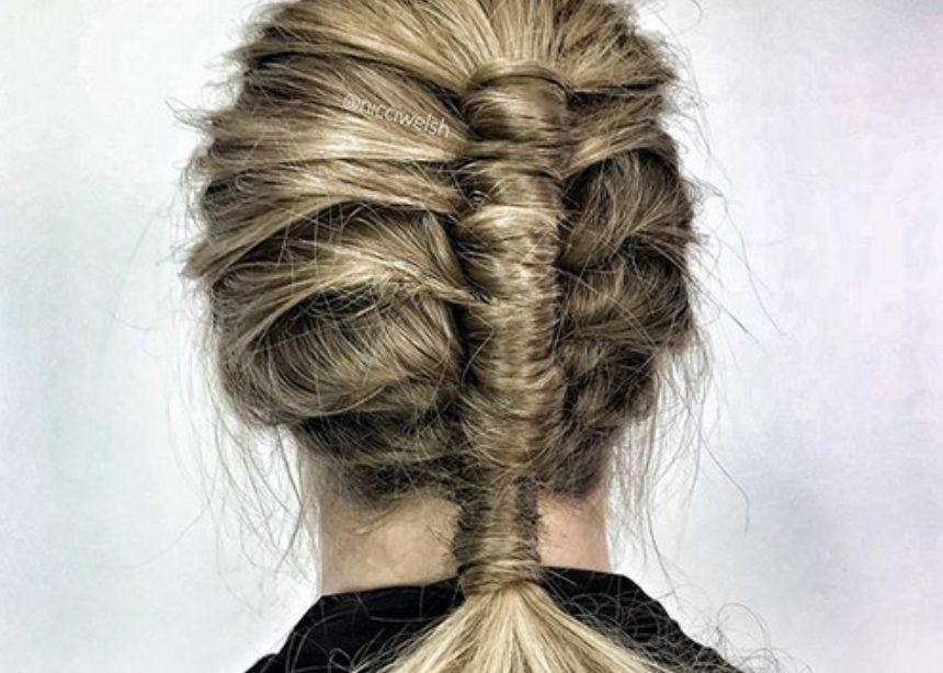 Pipe braid: η νέα πλεξίδα που θέλουμε να κάνουμε ξανά και ξανά! | tlife.gr
