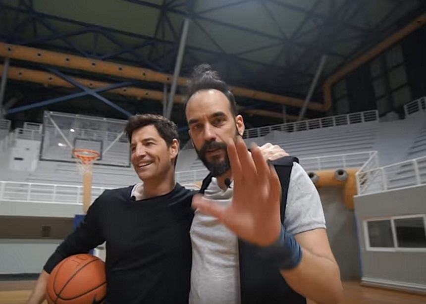 Άντεξε ο Πάνος Μουζουράκης το challenge του Σάκη Ρουβά; Βίντεο   tlife.gr