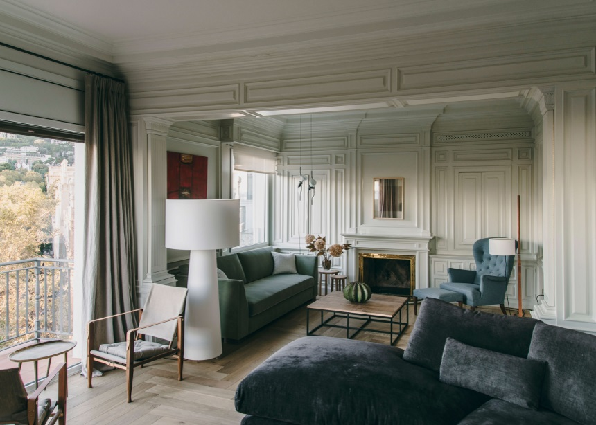 Sant Gervasi: Το πολυτελές διαμέρισμα που χωράει όλη την ιστορία της Βαρκελώνης στο σύγχρονο interior του   tlife.gr