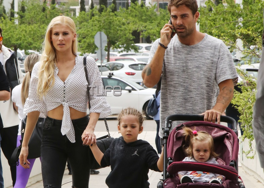 Στέλιος Χανταμπάκης – Όλγα Πηλιάκη: Έκαναν τα μαλλιά του γιου τους ράστα [pics]