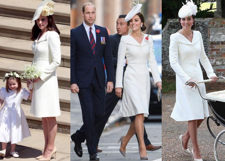 Σου θυμίζει κάτι το look της Kate Middleton στο βασιλικό γάμο; Εμείς το έχουμε δει άλλες τρεις φορές | tlife.gr