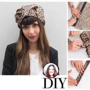 Η Πόπη Αναστούλη σου δείχνει πως να φτιάξεις το ultra stylish turban του οίκου Gucci
