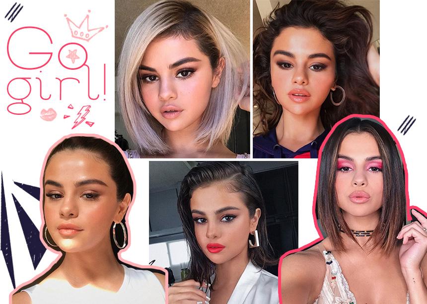 10 φορές που η Selena Gomez μας συγκλόνισε με το μακιγιάζ και τα μαλλιά της! | tlife.gr
