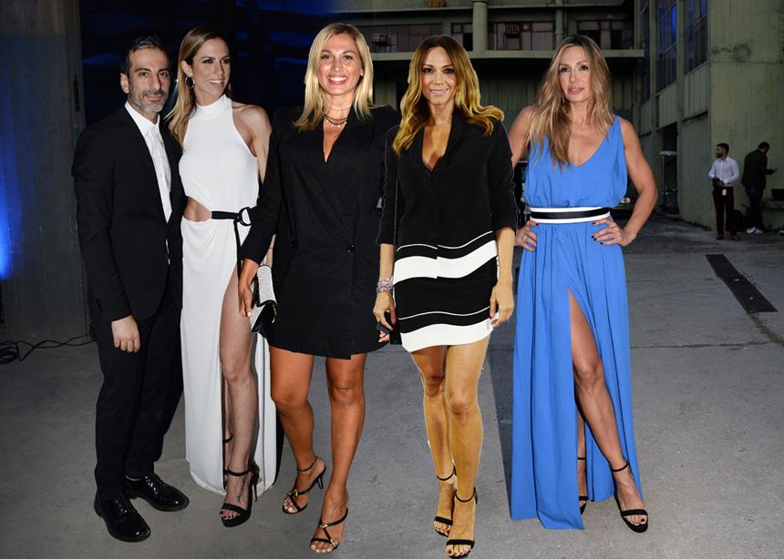 Fashion show με επώνυμες κυρίες για τον Stelios Koudounaris! [pics]