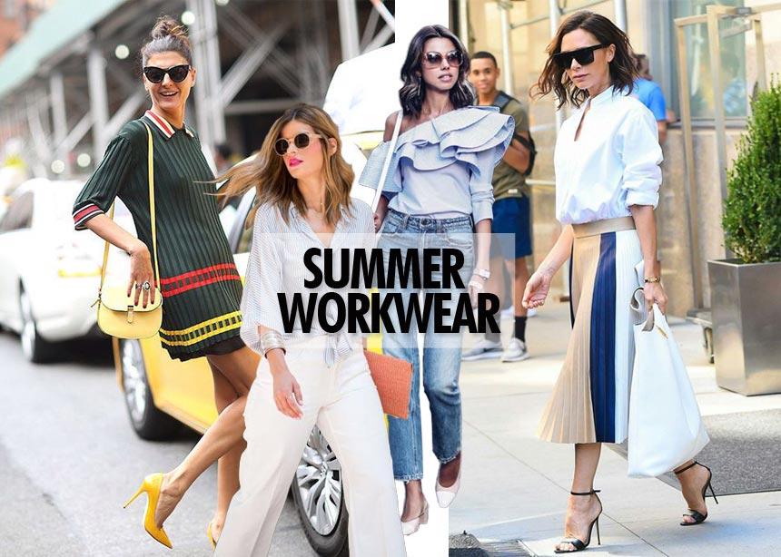 Τι να φορέσεις στη δουλειά: Οι καλοκαιρινοί κανόνες για τέλεια looks