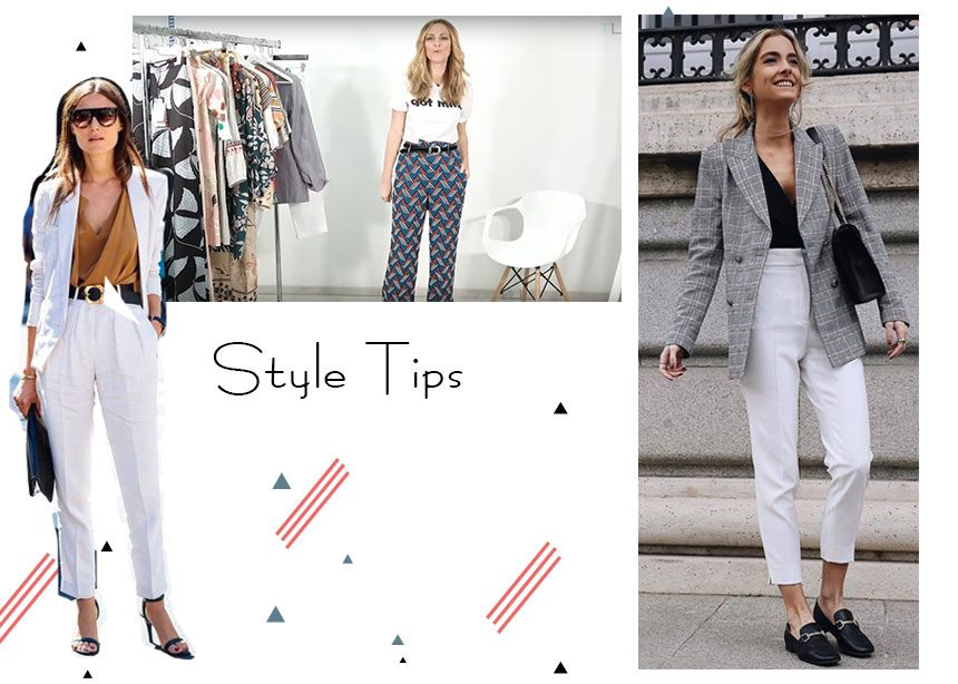 4 κορίτσια του Tlife σου δείχνουν πως να φορέσεις το λευκό παντελόνι με διαφορετικό τρόπο | tlife.gr