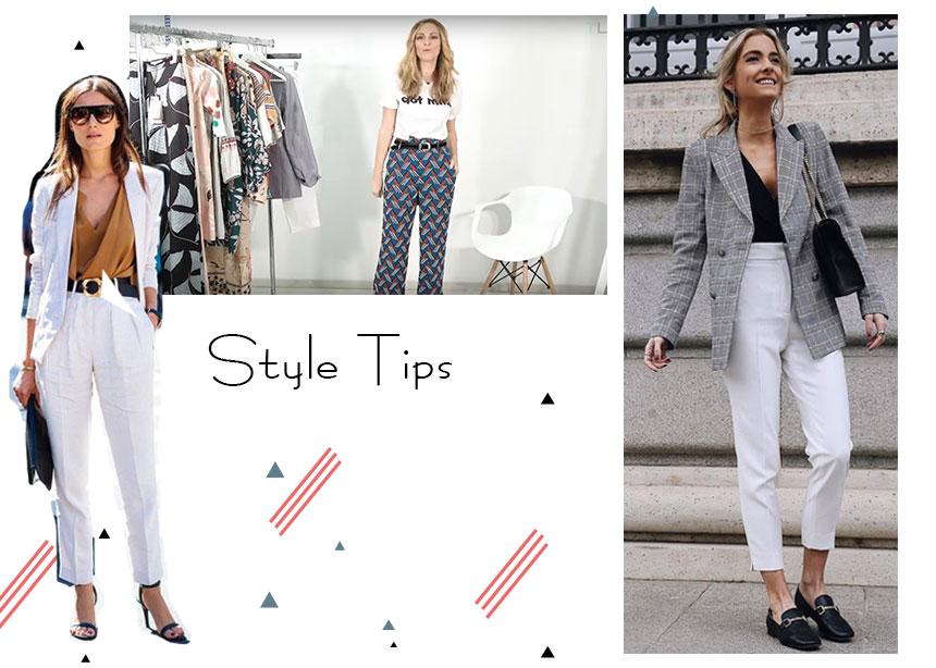 4 κορίτσια του Tlife σου δείχνουν πως να φορέσεις το λευκό παντελόνι με διαφορετικό τρόπο