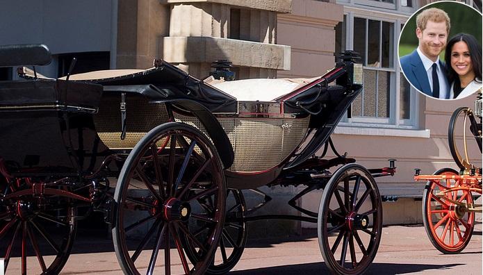 Με μια ανοικτή βασιλική άμαξα θα διασχίσουν το Ουίνδσορ ο πρίγκιπας Harry και η Meghan Markle μετά την τελετή του γάμου τους