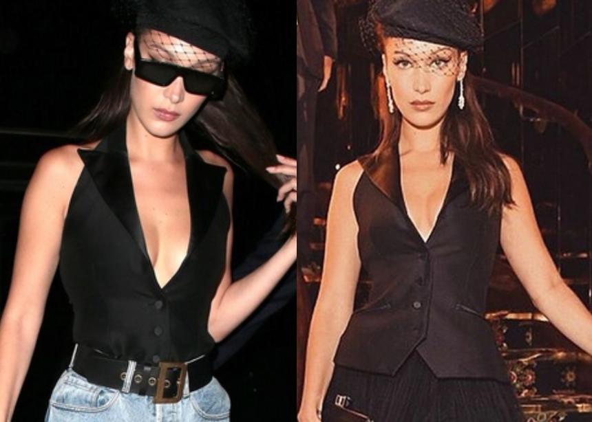 Η Bella Hadid φόρεσε το ίδιο τοπ με δύο διαφορετικούς τρόπους! Ψήφισε τον καλύτερο συνδυασμό