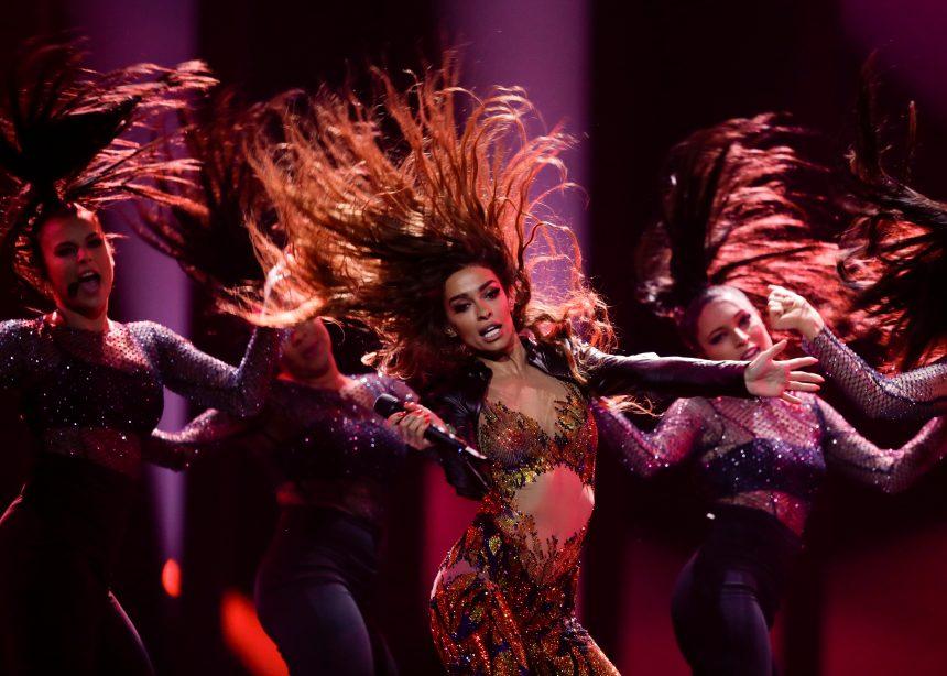 Eurovision 2018: Η εκρηκτική εμφάνιση της Ελένης Φουρέιρα – Ξεσήκωσε τους Ευρωπαίους με το «Fuego»! | tlife.gr