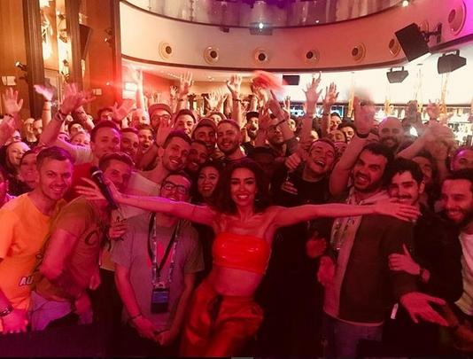 Ελένη Φουρέιρα: Είναι η μεγάλη σταρ της Eurovision! Αποθεώθηκε σε πάρτι των fans του θεσμού [vid] | tlife.gr
