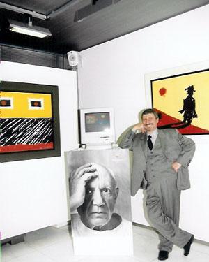 Ο Χάρρυ Κλυνν, ήταν και σπουδαίος ζωγράφος! Δες τους πίνακες που ζωγράφισε | tlife.gr