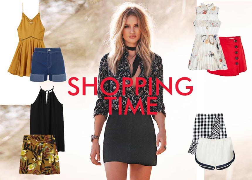 Mini φούστες, φορέματα και σορτς: Τα πιο hot items της αγοράς για να ανανεώσεις το στιλ σου