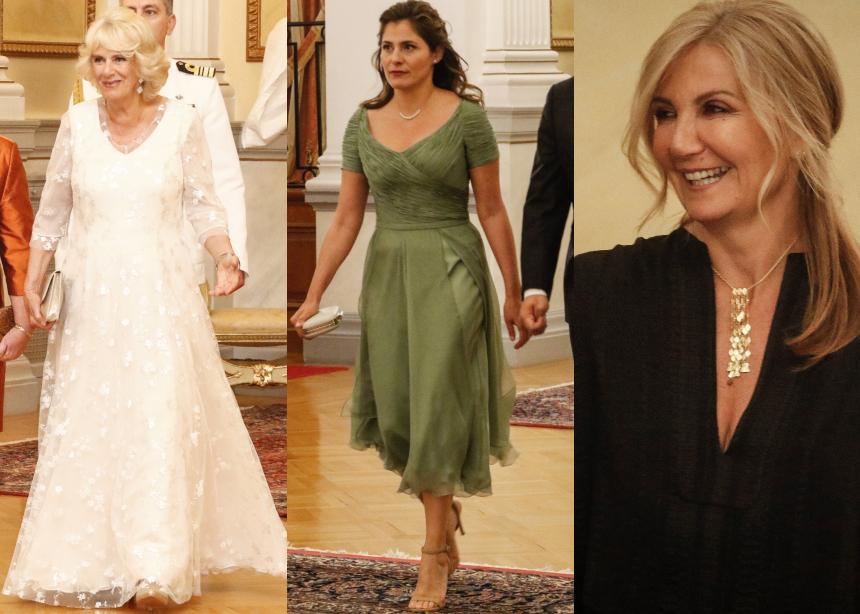 Δείπνο στο Προεδρικό Μέγαρο: Όλες οι λεπτομέρειες από τις εμφανίσεις των διάσημων κυριών | tlife.gr