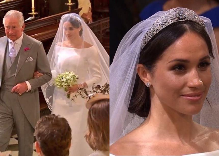 Η Meghan Markle παντρεύτηκε: Όλες οι λεπτομέρειες για το νυφικό που επέλεξε