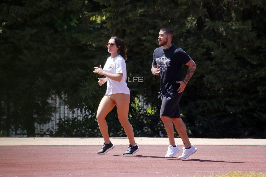 Έλενα Τσαγκρινού: Για τρέξιμο με τον νέο της σύντροφο και γνωστό ράπερ! [pics]   tlife.gr