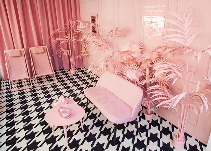 Millennial Pink Room: Ένα installation που αγαπήθηκε όσο λίγα στο Milan Design Week | tlife.gr