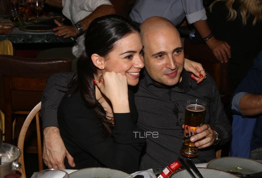 Κωνσταντίνος Μπογδάνος: Full in love με την σύντροφό του σε βραδινή τους έξοδο! [pics]