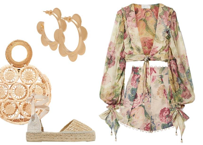 Στο Net-a-Porter βρήκαμε τα πιο φανταστικά floral ρούχα και αξεσουάρ της σεζόν | tlife.gr