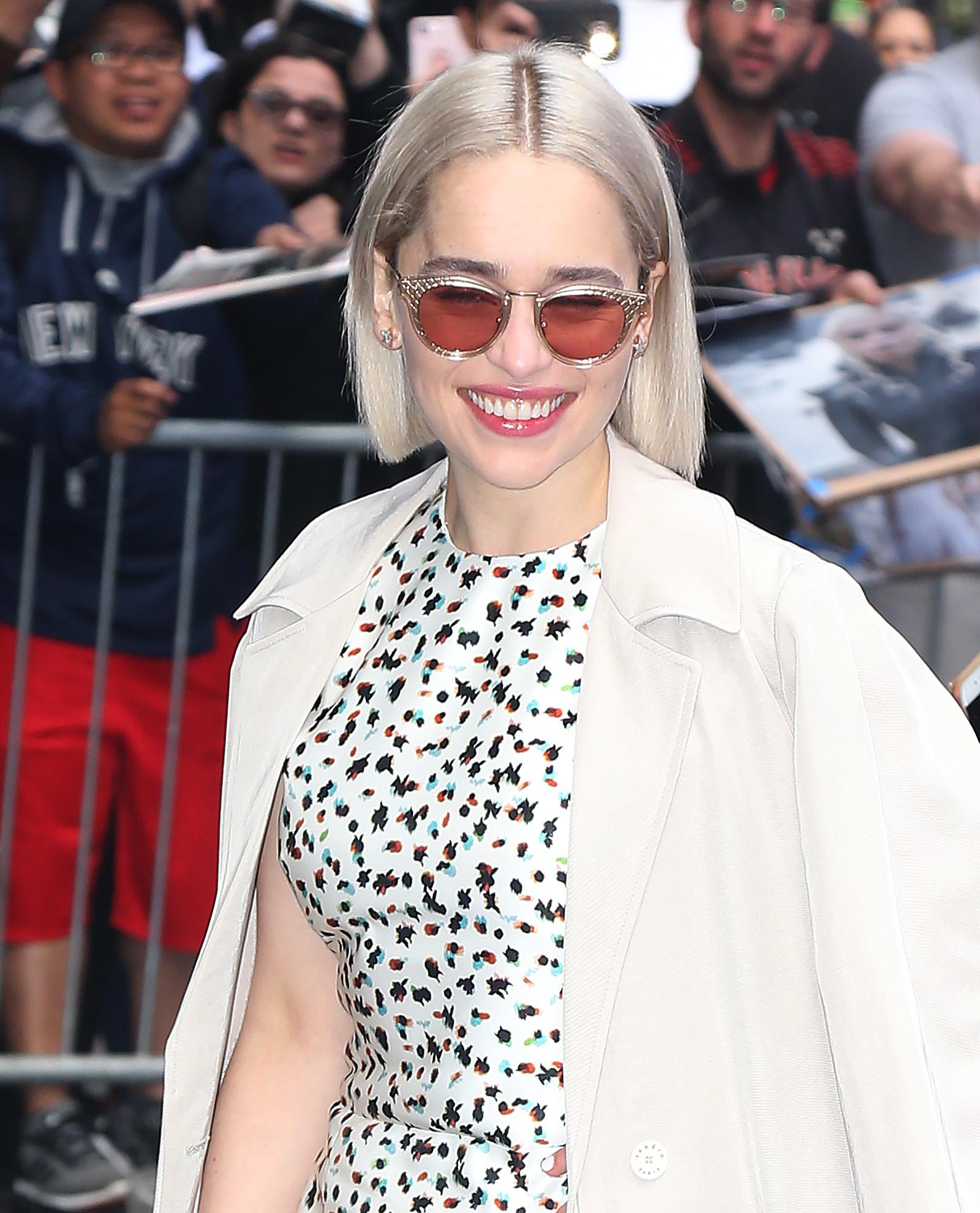 Η Emilia Clarke έκοψε τα μαλλιά της και το Game of Thrones ευθύνεται γι'αυτό!