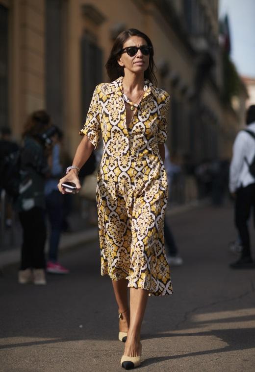 Παρίσι με printed φόρεμα | tlife.gr