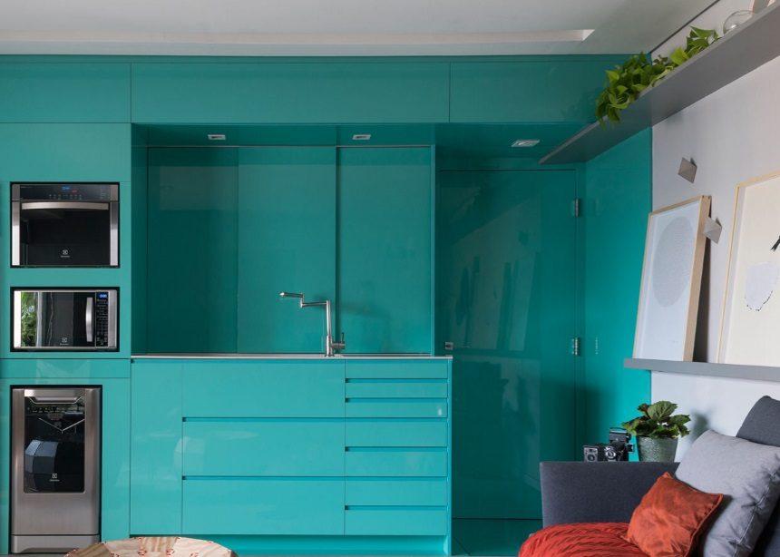 Vila Olimpia Apartment: Ένα compact διαμέρισμα στο Σάο Πάολο γεμάτο ενέργεια και φρεσκάδα | tlife.gr