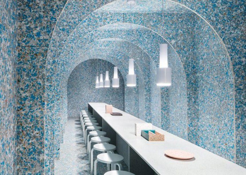 Ένα εστιατόριο με μηδενικό αποτύπωμα, φτιαγμένο εξολοκλήρου από ανακυκλωμένα υλικά! | tlife.gr