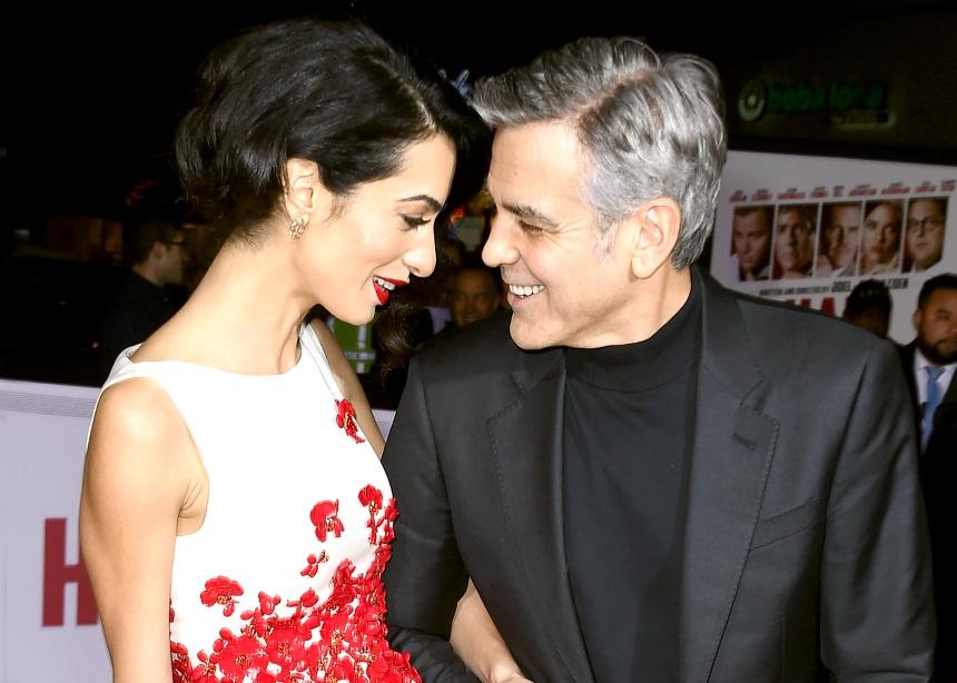 "Amal Alamuddin: ""Ο George Clooney είναι ένας εξαιρετικός σύζυγος και πατέρας και ο έρωτας της ζωής μου"""