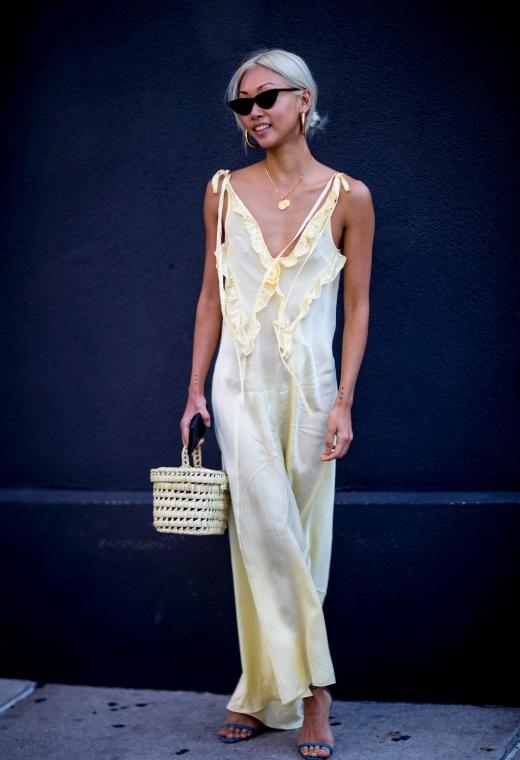 Νέα Υόρκη με ψάθινη τσάντα | tlife.gr