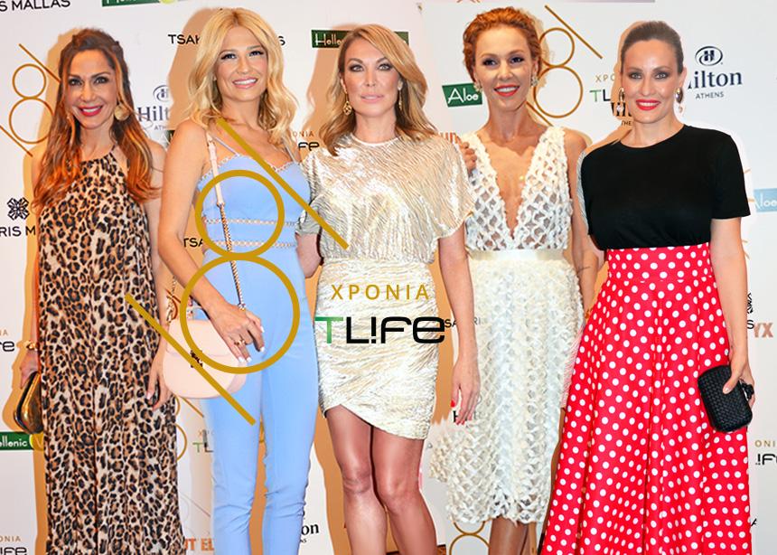 Οι celebrities στο μεγάλο party για τα οχτώ χρόνια του TLIFE | tlife.gr