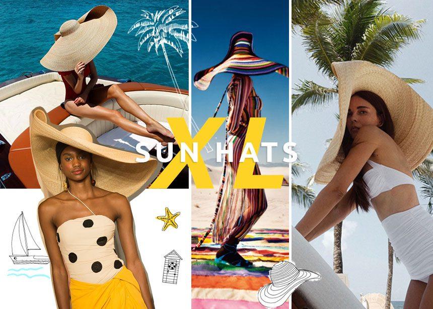 Φέτος τα ψάθινα καπέλα πρέπει να είναι τεράστια! Που θα τα βρεις και πως να τα συνδυάσεις | tlife.gr