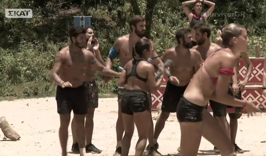 Survivor: Επικό τρολάρισμα στο twitter μετά τον καυγά  Διασήμων – Μαχητών  στο αγώνισμα ασυλίας   tlife.gr