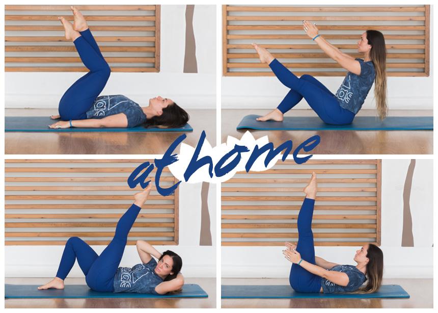 Γυμναστική στο σπίτι: Ασκήσεις pilates που θα σου χαρίσουν τέλεια κοιλιά   tlife.gr
