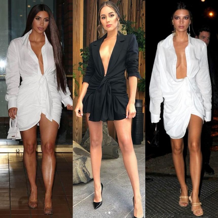 Οι celebrities επιλέγουν μίνι φορέματα με βαθύ ντεκολτέ | tlife.gr