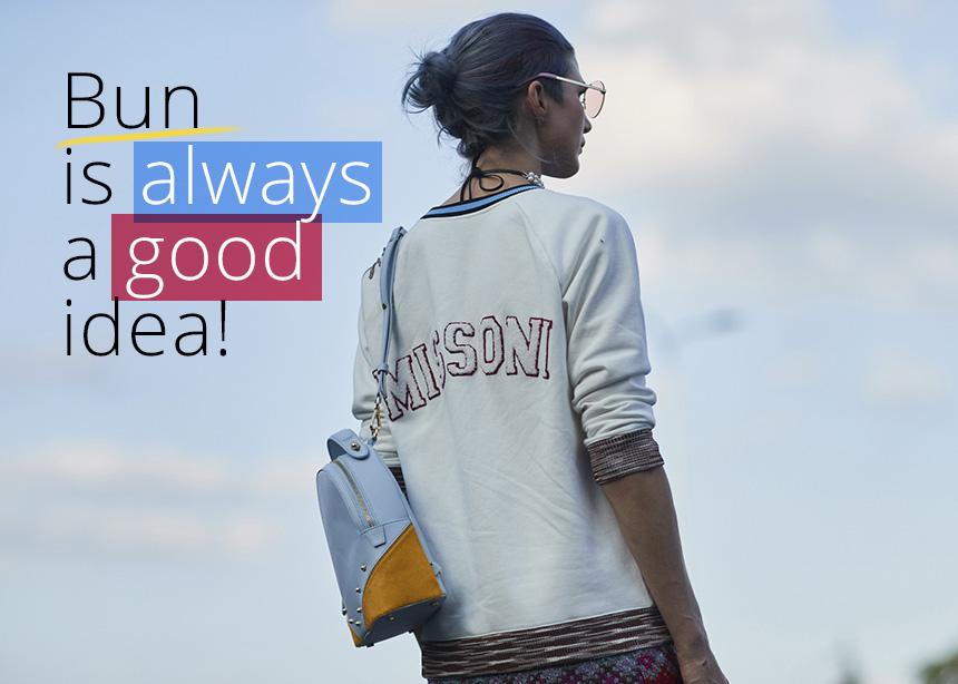 Το σινιόν είναι πάντα μια καλή ιδέα! Πώς θα το κάνεις να μείνει όλη μέρα στη θέση του! | tlife.gr