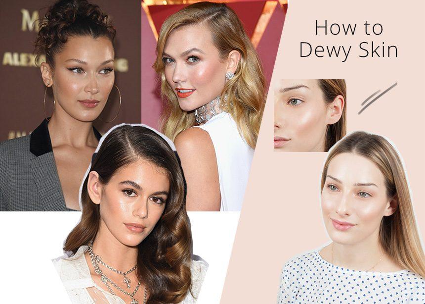 Το μακιγιάζ που θα κάνεις σήμερα! Dewy skin και πώς θα το πετύχεις βήμα- βήμα!   tlife.gr