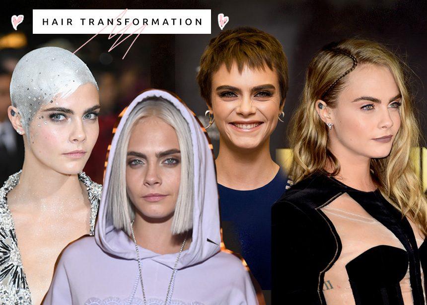Πόσο hair chameleon είναι η Cara Delevingne μέσα από 17 φωτογραφίες!   tlife.gr