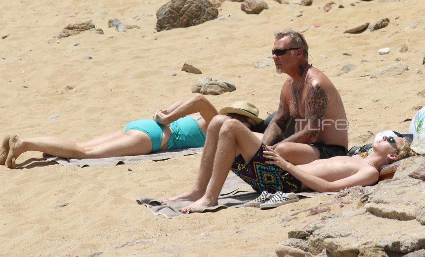Ο frontman των Metallica, James Hetfield, με τα παιδιά του στη Μύκονο! [pics] | tlife.gr