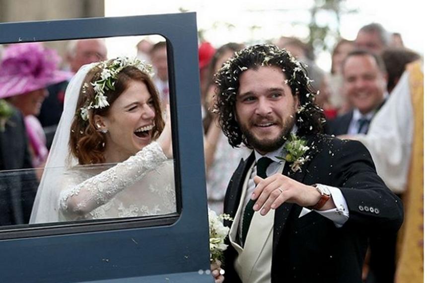 Λαμπερός γάμος στη Σκωτία για τον Jon Snow και την Ygritte του Game of Thrones! [pics] | tlife.gr