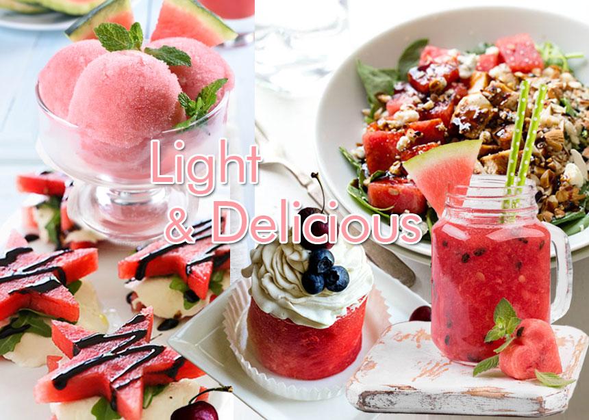 Καρπούζι: Γλυκές και αλμυρές light συνταγές για να εντάξεις στα πιάτα σου αυτό το φρούτο εποχής   tlife.gr