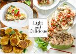 Συνταγές για δίαιτα: Light βραδινά πιάτα με λιγότερο από 250 θερμίδες