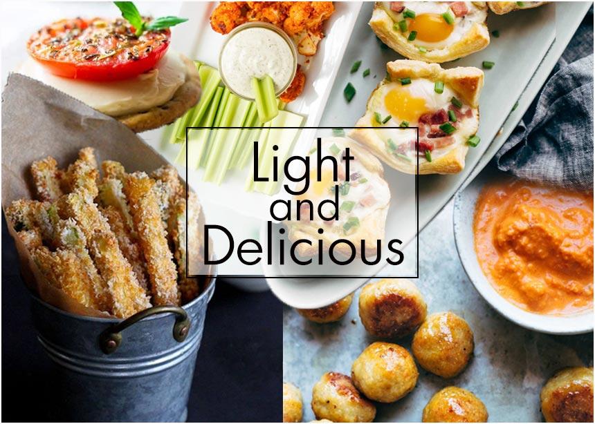 Βραδιά με φίλους: Light συνταγές για εσένα και τους καλεσμένους σου
